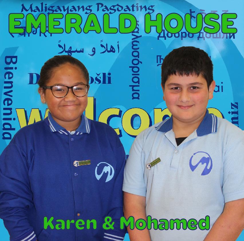 Emerald Karen and Mohamed